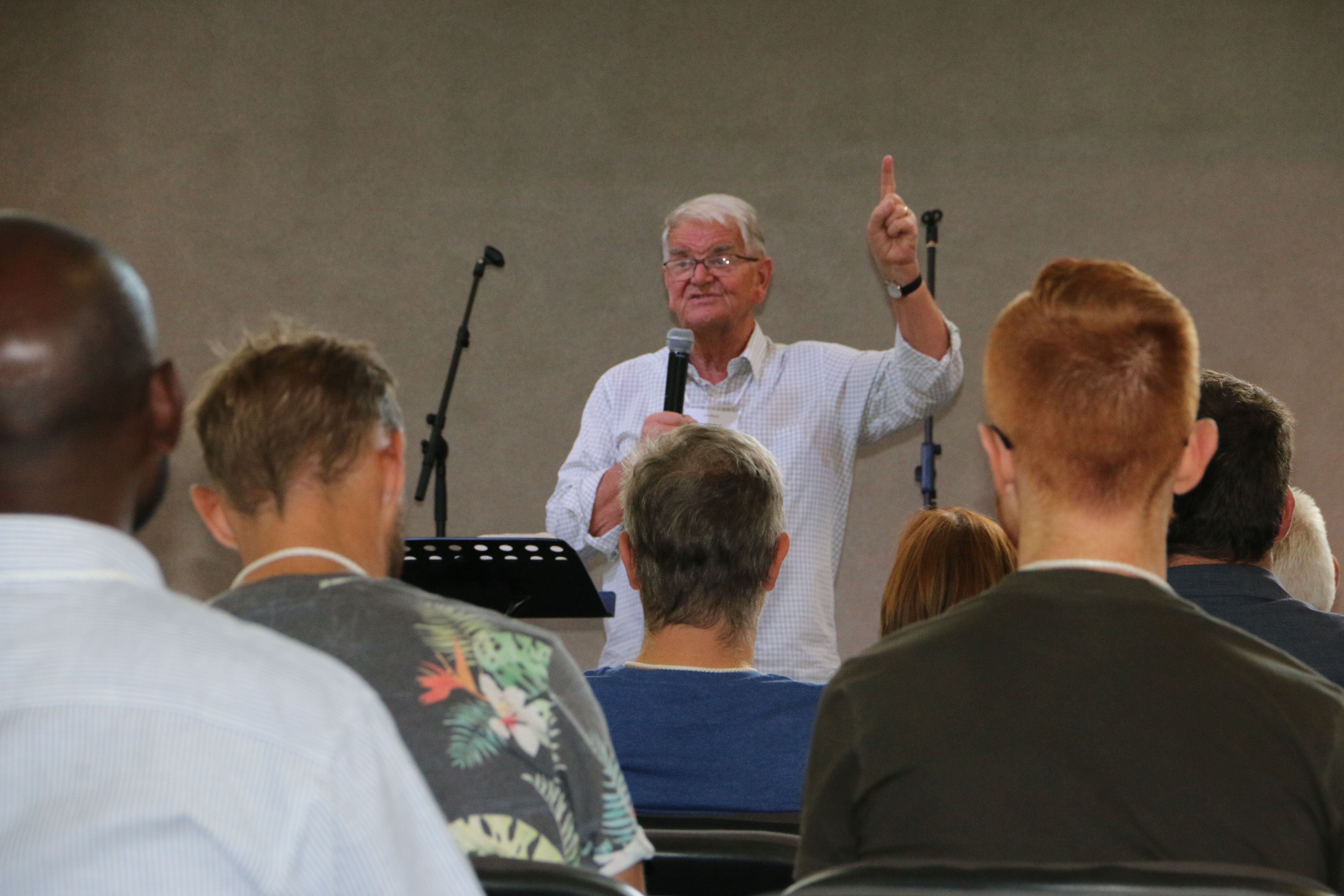 Terry Virgo visits the Western Cape Hub in South Africa